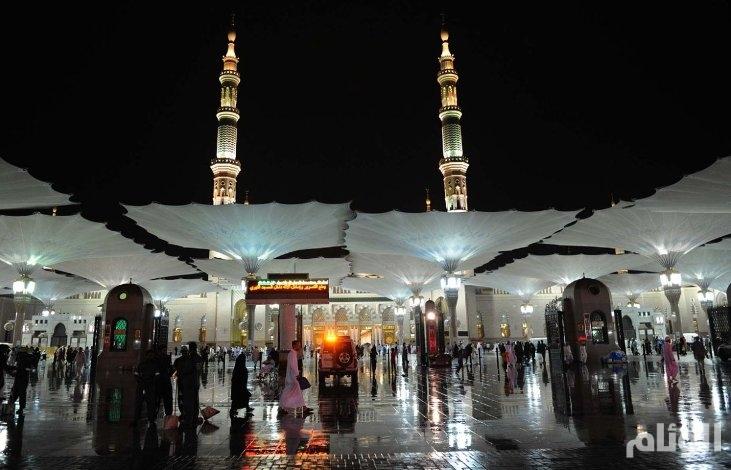 الأرصاد: توقعات بهطول أمطار رعدية في مكة والمدينة