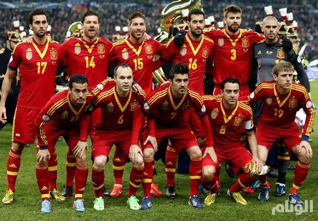 اسبانيا تواجه التشيك وتركيا وكرواتيا في بطولة أوروبا