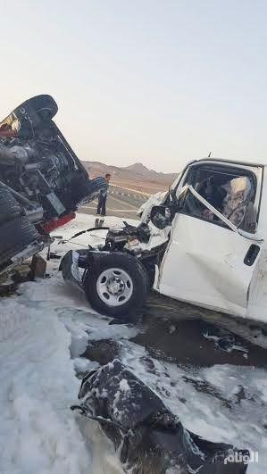 وفاة وإصابة «8» معلمات في حادث بمفرق الشقران