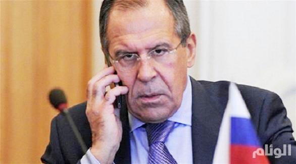 لافروف يبحث مع نظيريه التركي والإيراني الوضع في سوريا