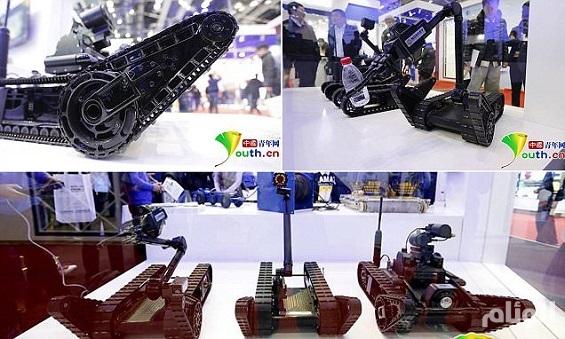بالصور: روبوتات عسكرية صينية لمكافحة الإرهاب