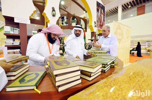 «القرآن الكريم» هدية الملك لزوار جناح السعودية بمعرض الشارقة