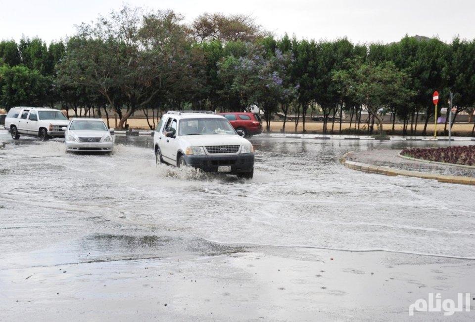 هطول أمطار رعدية بـالقصيم وحائل والحدود الشمالية