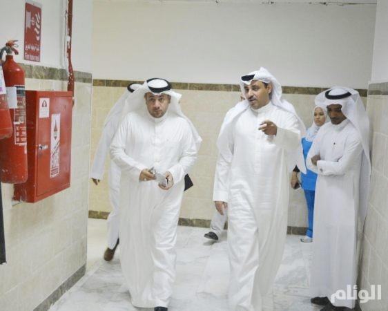 مدير صحة مكة يتفقد مستشفى الليث العام