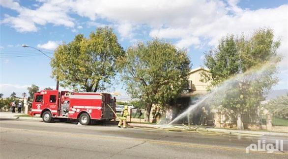 مسؤولون: حريق المسجد بكاليفورنيا ربما كان متعمداً