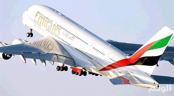 """""""طيران الإمارات"""" توضح حقيقة مصابي رحلة نيويورك"""