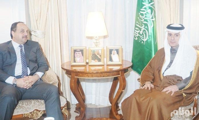 وزراء خارجية المملكة وقطر وتركيايبحثون أزمة سوريا
