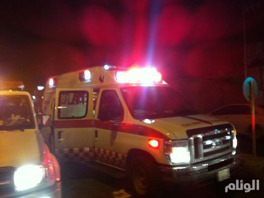 اصابة «8» أفراد بانقلاب مركبتهم بالطائف