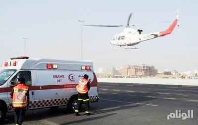 مصرع وإصابة 6 أشخاص فى حادث تصادم على طريق الساحل بمكة