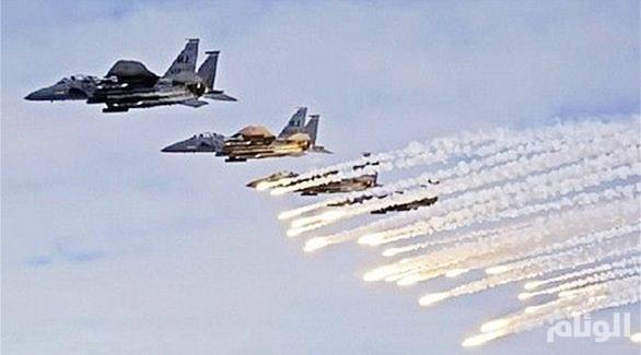 التحالف يستهدف مخزن أسلحة وذخائر تابع لميليشيا الحوثي في كتاف .. وخسائر بشرية في صفوف الإنقلابيين