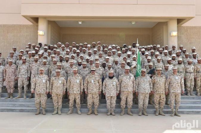 السعوديه : «الحرس الوطني» يحتفل بتخريج دورة الفرد الأساسي 32312