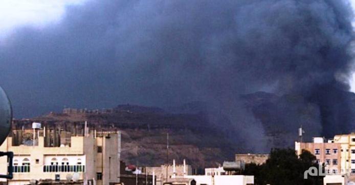 اليمن: طيران التحالف العربي يشن غارات على مسقط رأس صالح