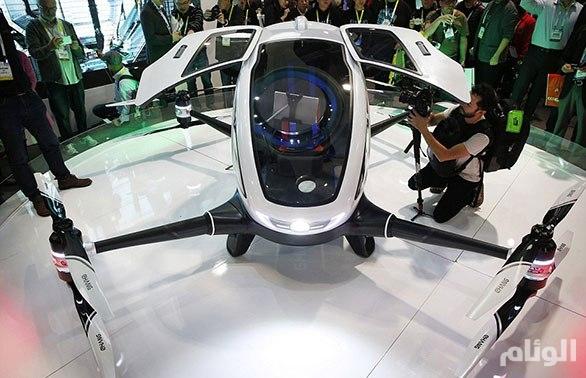 بالصور: أول طائرة «أجرة» دون طيار ذاتية القيادة لنقل الركاب
