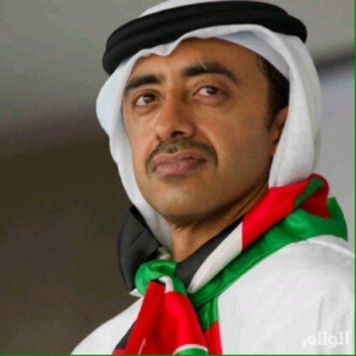 """""""رتويت"""" عبدالله بن زايد يستنفر تركيا لتسمية شارع سفارة الإمارات بـ"""" فخر الدين باشا """""""