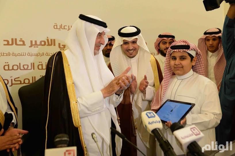 """أمير مكة يدشن برامج الشباب في المنطقة تحت شعار """"بصمة وطن """""""