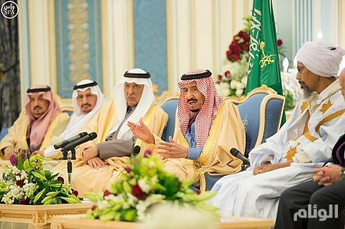 الملك سلمان :علينا أن نكون متفائلين رغم الظروف المحيطة بنا