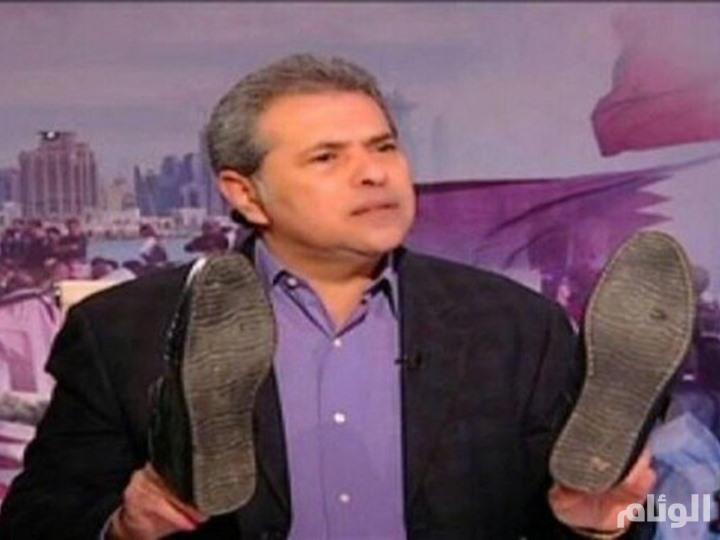 توفيق عكاشة يقتحم استديو قناة صدى البلد بمجموعة «بلطجية» لضرب مصطفى بكري