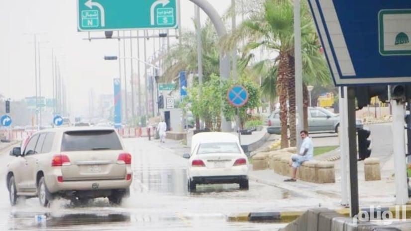 حالة الطقس: أمطار رعدية بمعظم مناطق المملكة