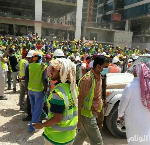 """عدد من العمال فى """"بن لادن السعودية"""" يطالبون بتسديد رواتبهم المتأخرة منذ 5 أشهر"""