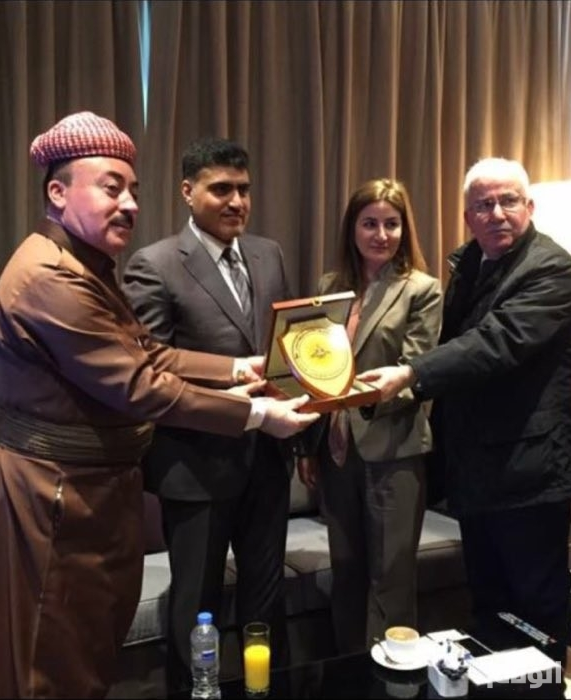 السفير السعودي ببغداد يلتقي أفرادا من الطوائف المسيحية والإيزيدية والصابئة