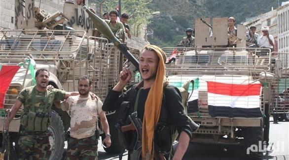 القوات الشرعية اليمنية تحرر مركز مديرية المسراخ جنوبي تعز