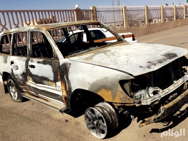 القبض على شابين أضرما النيران بسيارة مواطن بالقصيم