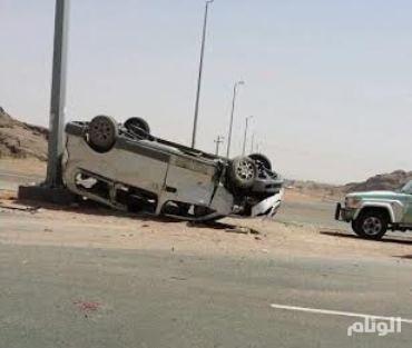 إصابة عددٍ من المعلمات في حادث مروري بحائل