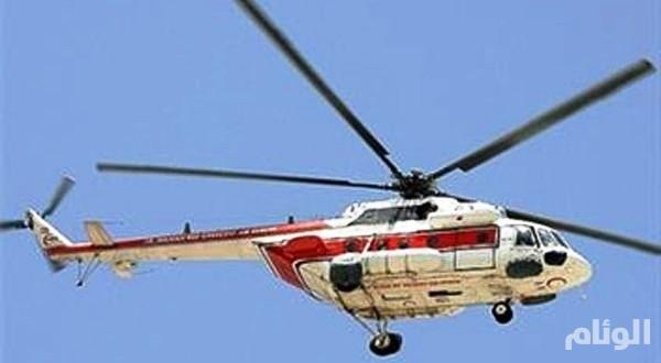 إيران: العثور على «8» جثث بحادث سقوط المروحية في شيراز
