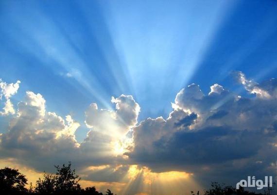 الأرصاد: سماء غائمة جزئيًا على وسط وجنوب المملكة