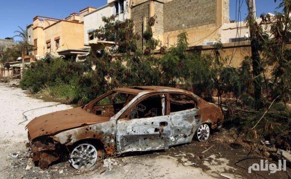 ليبيا: مصرع «11» جندياً وإصابة 52 آخرين باشتباكات مع مسلحين ببنغازي