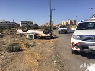مصرع شخص وإصابة 11 آخرين في حوادث متفرقة بالباحة