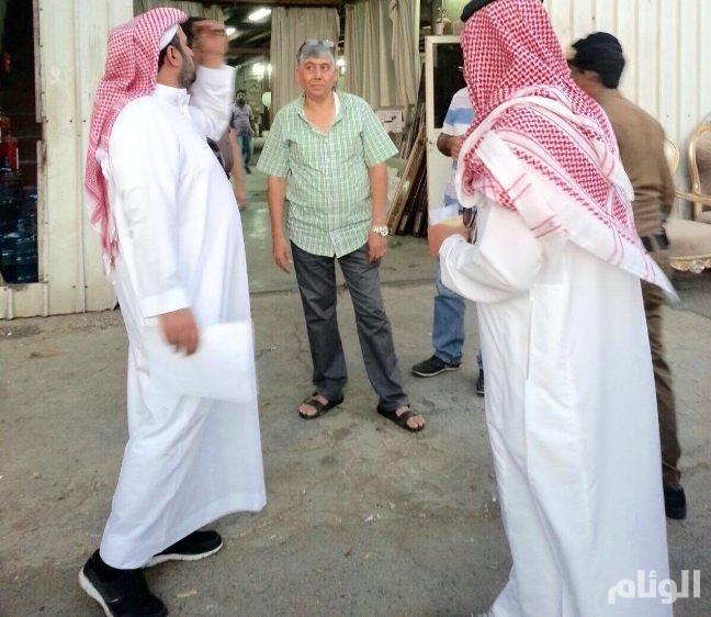 حملة مشتركة تضبط «68» مخالفًا في جدة