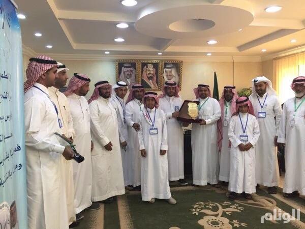 مدرسة الأمير نايف بحفار تشارك بالملتقى التطوعي الأول على مستوى المملكة