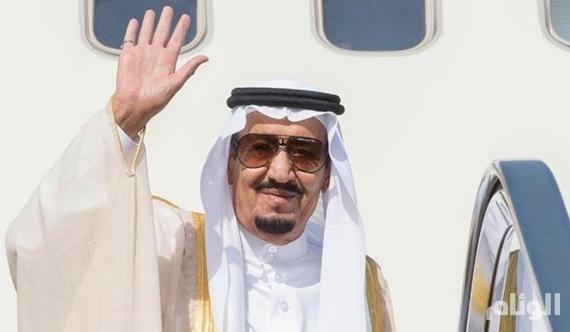 الملك سلمان يغادر الأردن