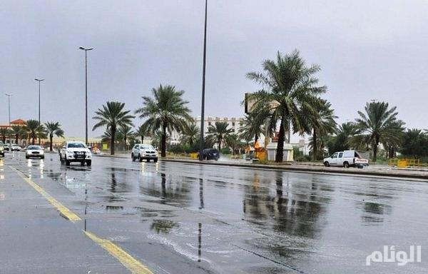 الأرصاد: توقعات بهطول أمطار في المدينة وتبوك وحائل والقصيم