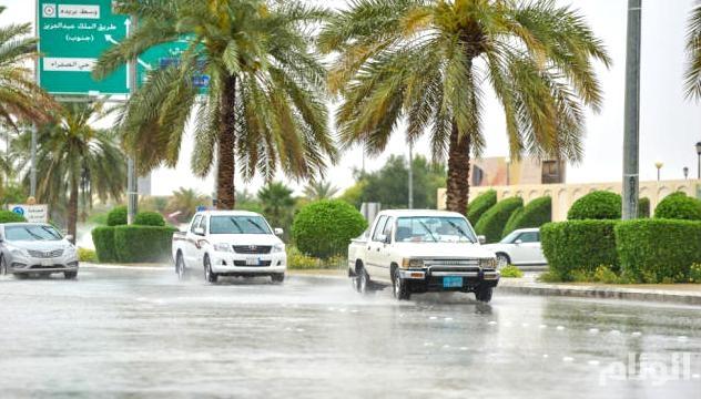 الأرصاد: توقعات بهطول أمطار في القصيم والرياض والشرقية