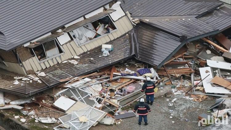 زلزال بقوة «5.3» درجات يضرب شرق اليابان