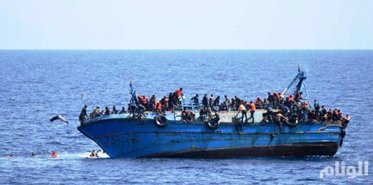 غرق «80» مهاجراً في انقلاب زورقهم قبالة سواحل ليبيا