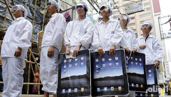 الشركات تستخدم الروبوت بديلاً للإنسان في تصنيع «آيفون»