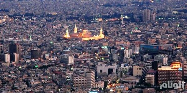 """قصف """"مكثف"""" على دمشق وتعليق الدراسة ..واقتراب المعارضة من مكان التلفزيون الرسمي"""