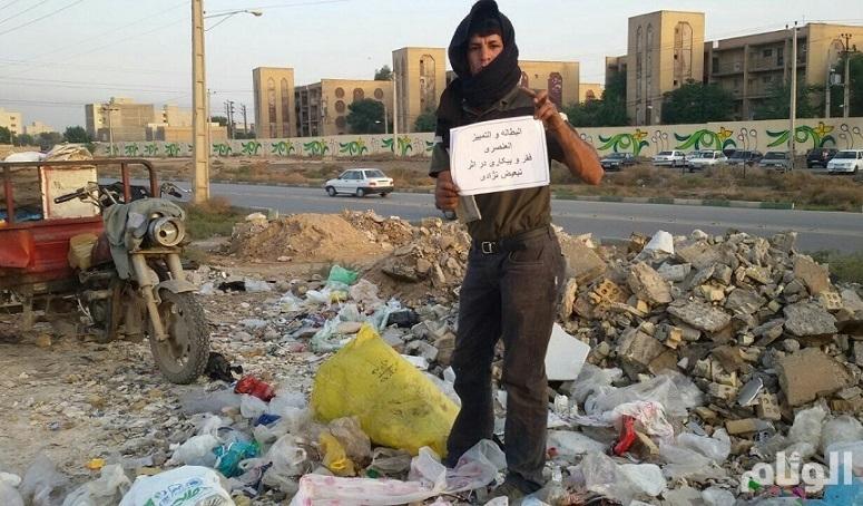 القوات الإيرانية تقمع مظاهرة للأحوازيين العاطلين عن العمل في مدينة دور إنتاش