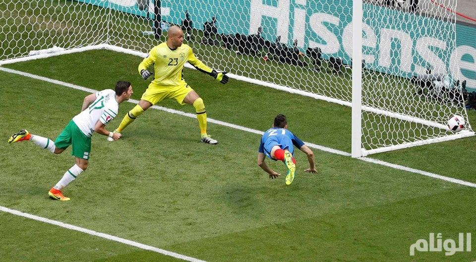 كأس أوروبا 2016 : فرنسا تتأهل إلى ربع النهائي بفوزها على ايرلندا 2-1