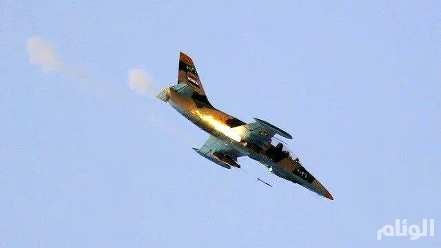 تحطم طائرة عسكرية للنظام السوري في مطار حماة