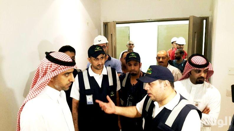 «الفالح» ومدير صحة مكة يتفقدون المراكز الصحية بالمنطقة المركزية