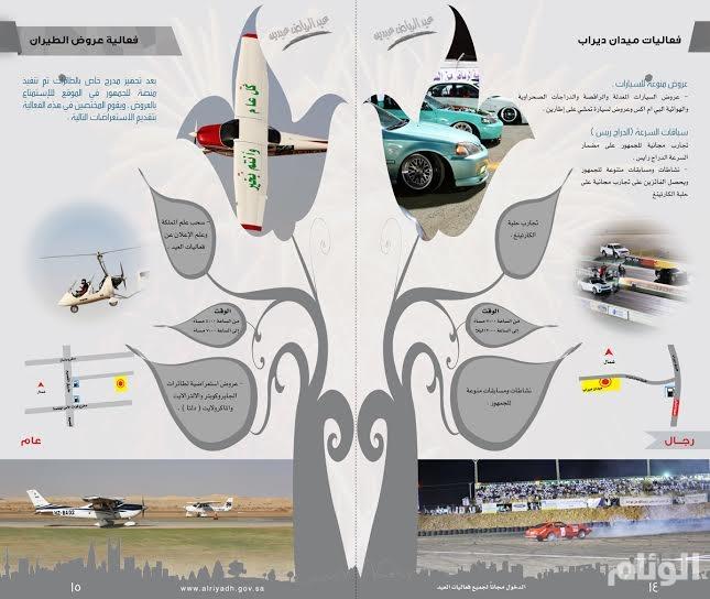 أمانة الرياض تصدر مليون نسخة من برنامج احتفالاتها بعيد الفطر