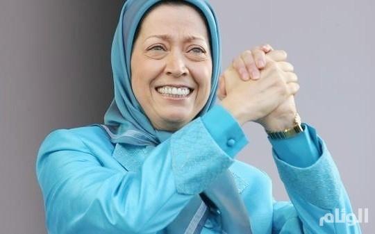 مريم رجوي تفتح النار على نظام الملالي بعد إضرام فتاة إيرانية النار في نفسها
