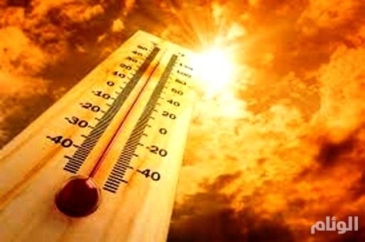 الأرصاد: ارتفاع درجات الحرارة خلال النهار بمناطق المملكة
