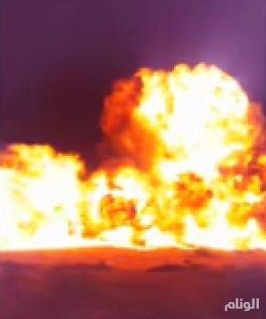 المقاومة الوطنية الأحوازية تستهدف أنابيب النفط في منطقة «جحر السبع»