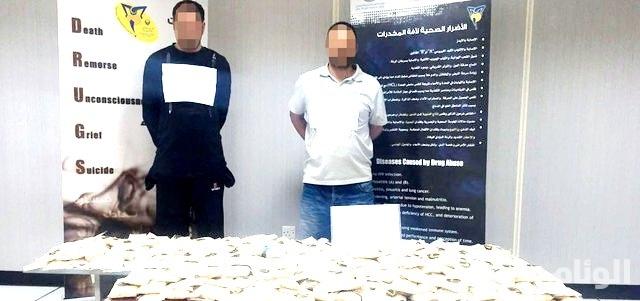 شرطة أبوظبي تحبط تهريب مليون قرص مخدر إلى السعودية