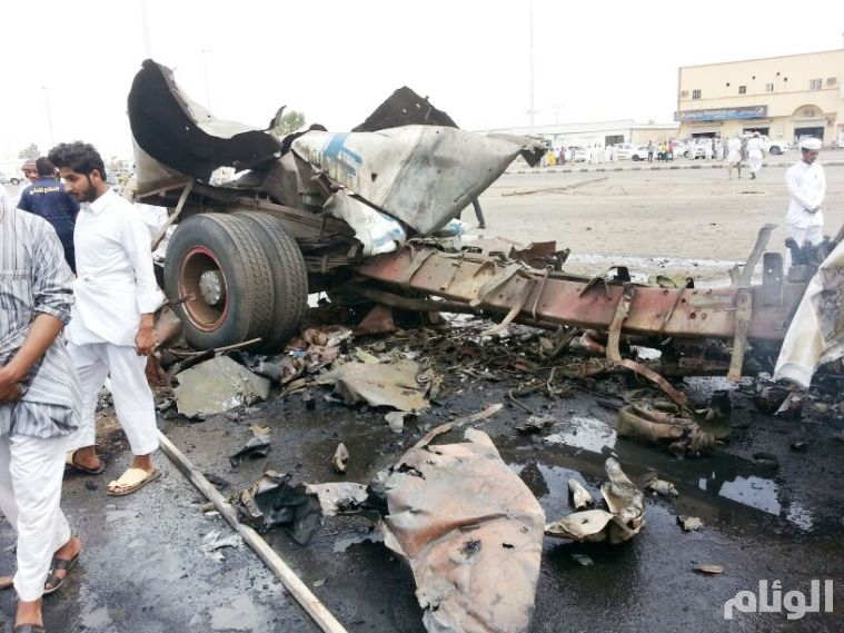 بالصور.. استشهاد مواطن وإصابة «6» مقيمين بـقذائف حوثية على نجران